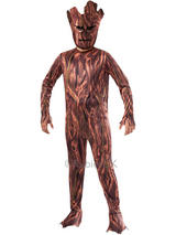 View Item Child Guardians of the Galaxy Groot Fancy Dress Costume & Mask Halloween Kids