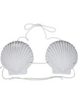 View Item Hawaiian 15cm Bra Fancy Dress Accessory Sea Shell Bikini Summer Luau Mermaid