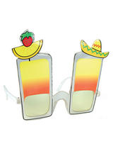 View Item Cocktail Hawaiian Lua Sunglasses Glasses Fancy Dress Funny Specs BA023 Novelty