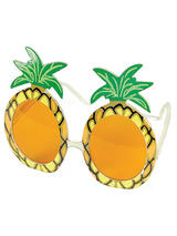 View Item Pineapple Sunglasses Glasses Specs Hawaiin Fancy Dress Novelty Beach Cocktail