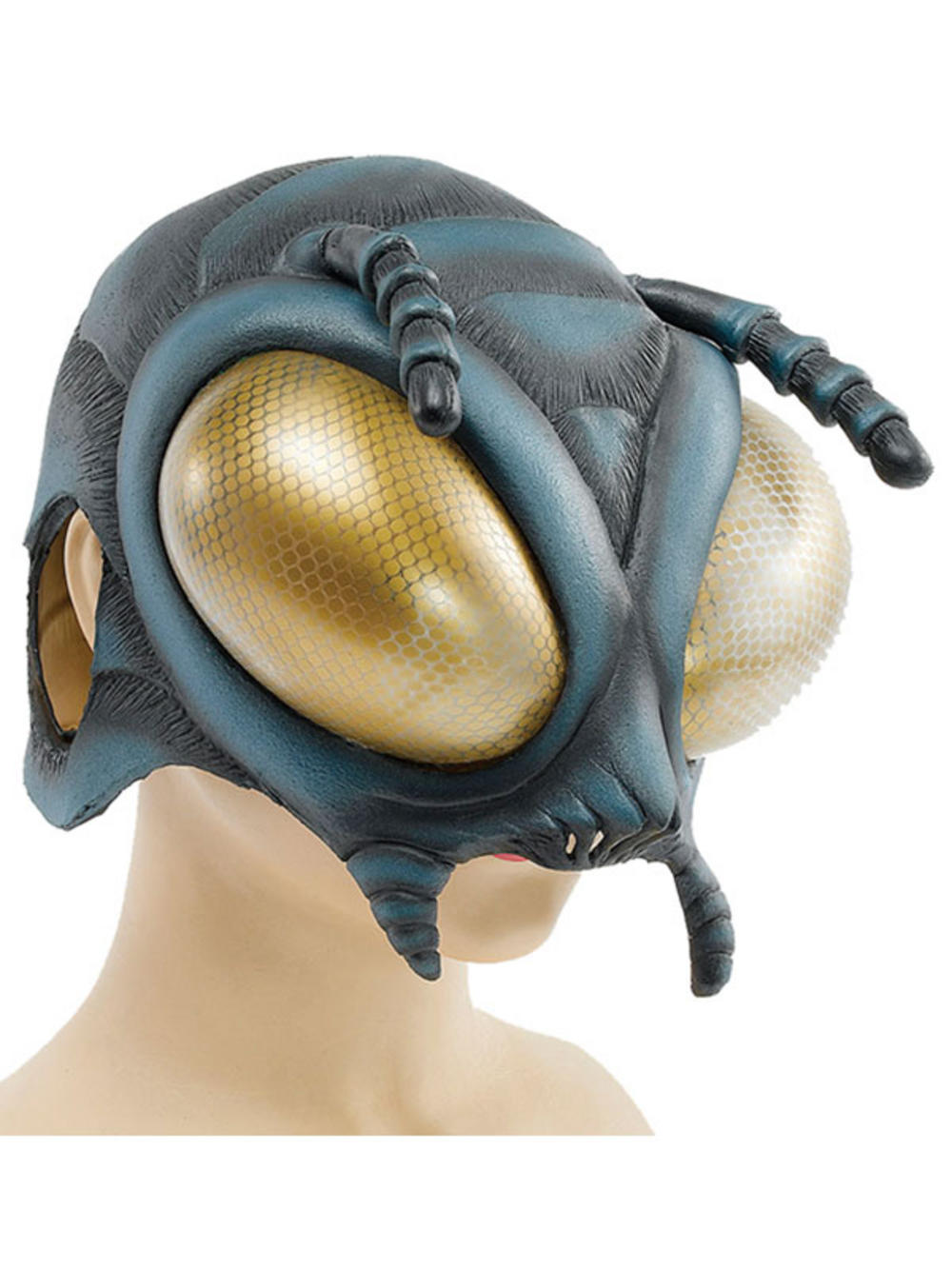 New Fly Bug Alien Latex Rubber Overhead Scary Fancy Dress ...