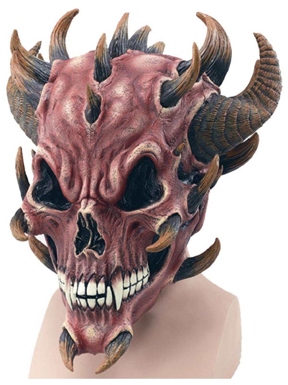 Adults Big Baby & Dummy Mask Halloween Fancy Dress Accessory Stag ...
