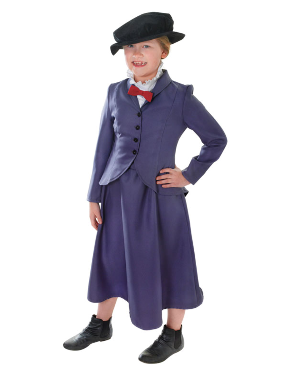 Age 5 10 victorian nanny mcphee fancy dress costume for Storybook nanny