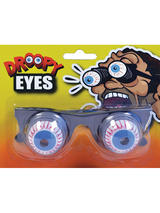 View Item Unisex Practical Joke Goofy Droopy Eyes On Springs Fancy Dress Eye Specs New