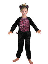 View Item Child Girls Pinky Cat Costume Animals & Nature Book Day Fancy Dress Halloween