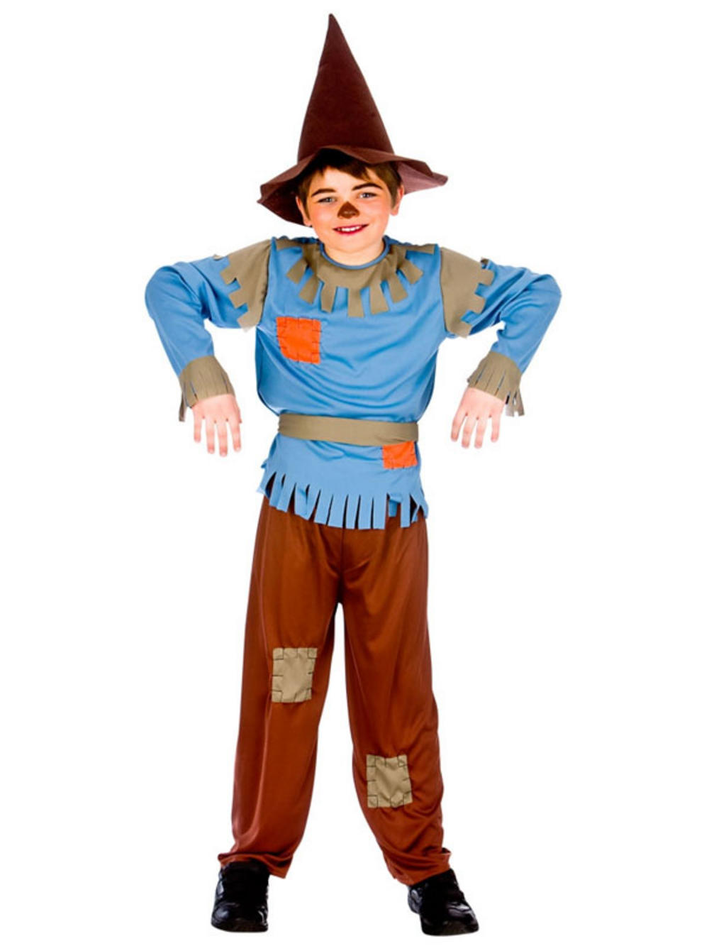 Storybook Kids Boys Scarecrow Fancy Dress Character Book