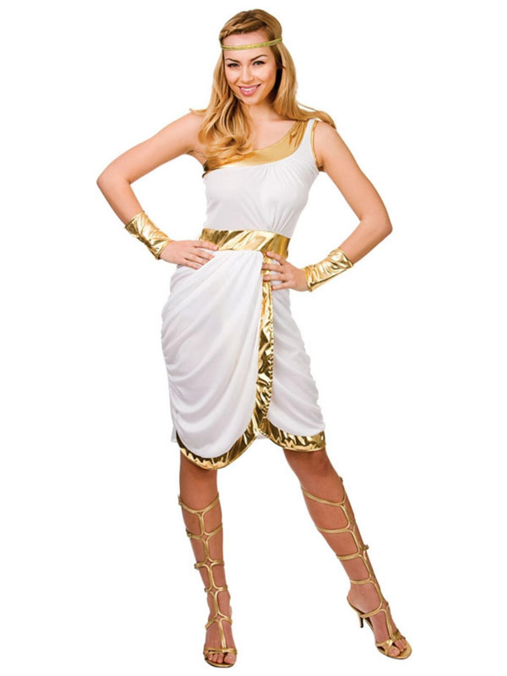 Awesome Girls Ancient Greek Girl Costume Large 810yrs Fancy Dress Up