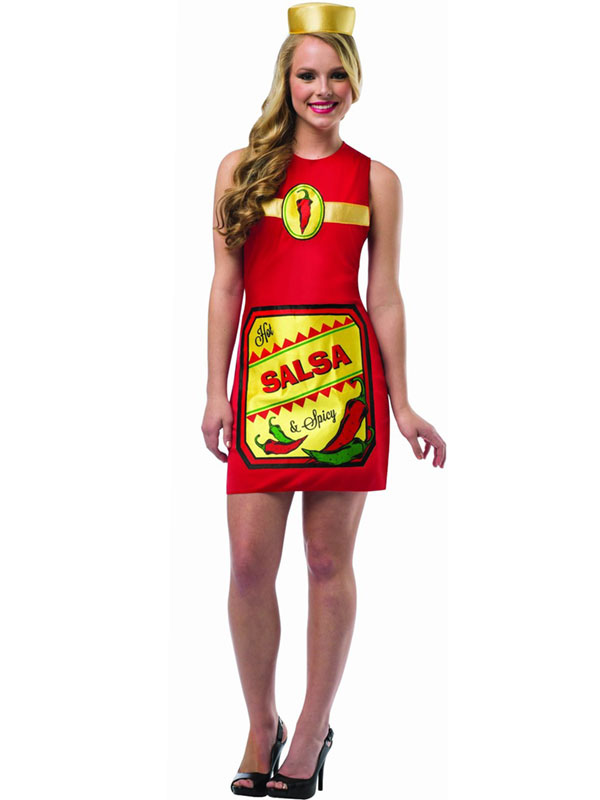 Mexican Halloween Costumes Costume-dress-mexican-food