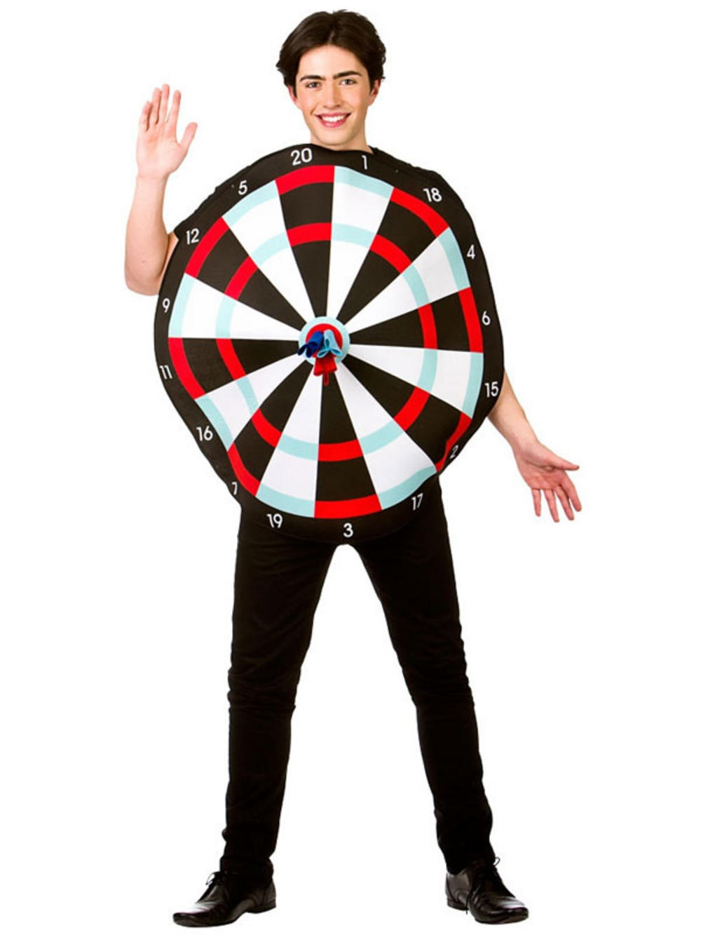 Adult Dart Board Game Costume u0026 Novelty Darts New Fancy Dress Stag Party Outfit Buy Online