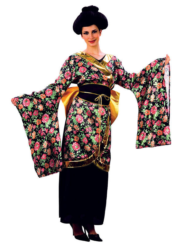 Girl geisha costume pity
