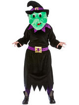 View Item Adults Wicked Witch Fancy Dress Up Party Sports Charity Fun Run Mascot Costume