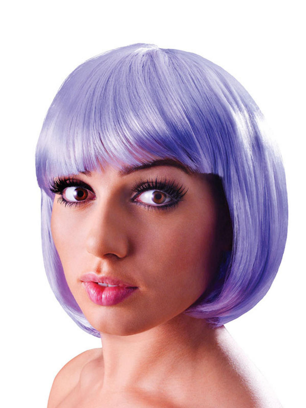 Blonde Bob Wig Fancy Dress 100