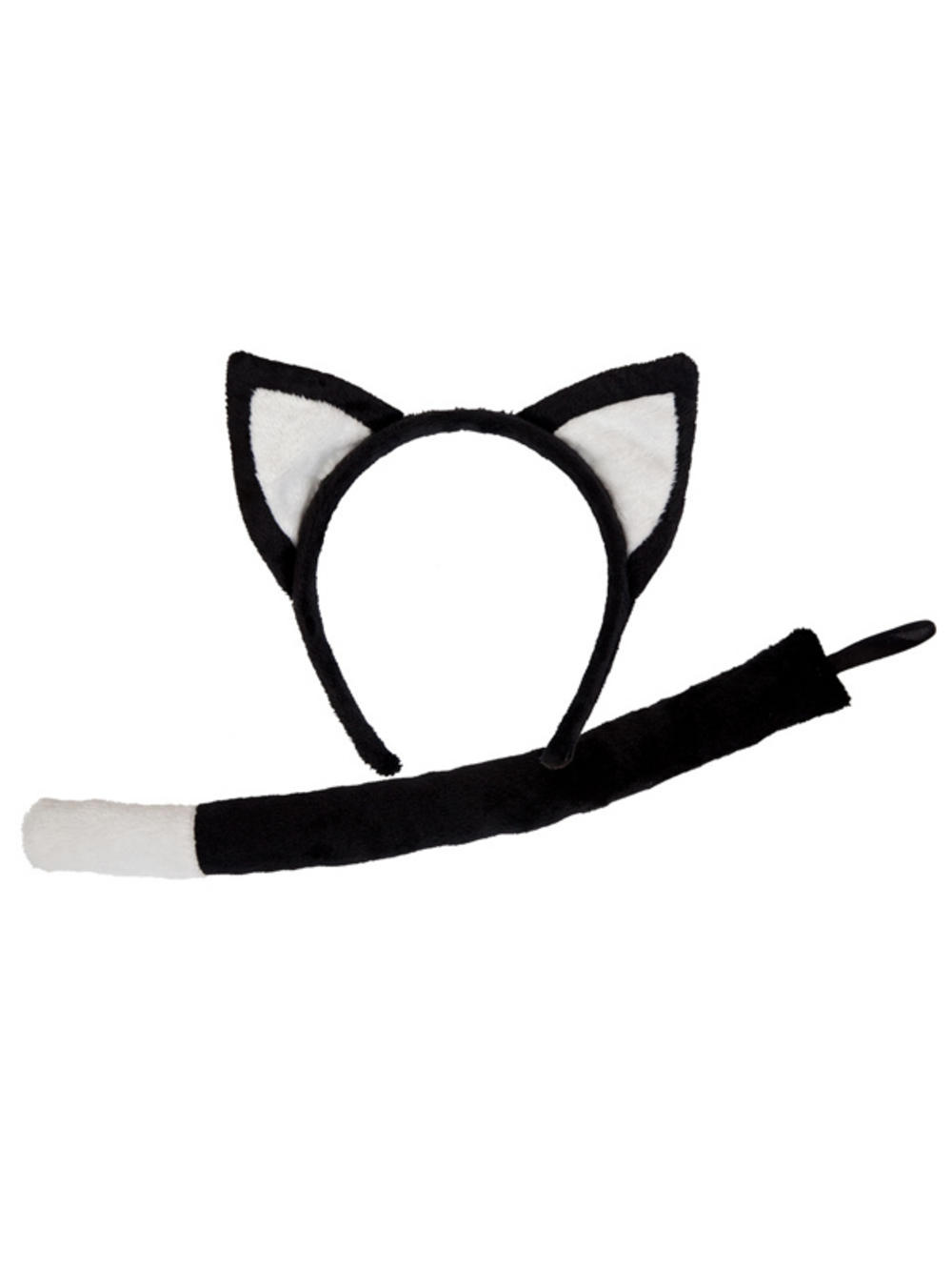 Childrens Cat Ears And Tail Set