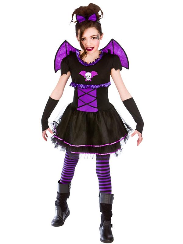 halloween girls fancy dress up horror ballerina bat - Halloween Girl Dress Up