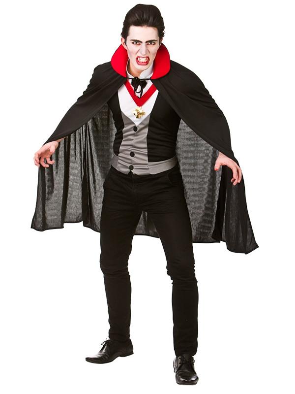 Da Uomo Orrore Costume Halloween Festa fino assetati di sangue contare Costume da vampiro