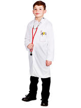 Kids White Lab Coat Doctors Science Dr Warehouse Boys Girls Childrens Ages 3-10