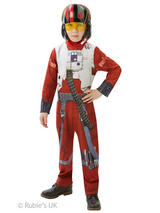 View Item X-Wing Fighter Boys Fancy Dress Star Wars The Force Awakens Kids Costume
