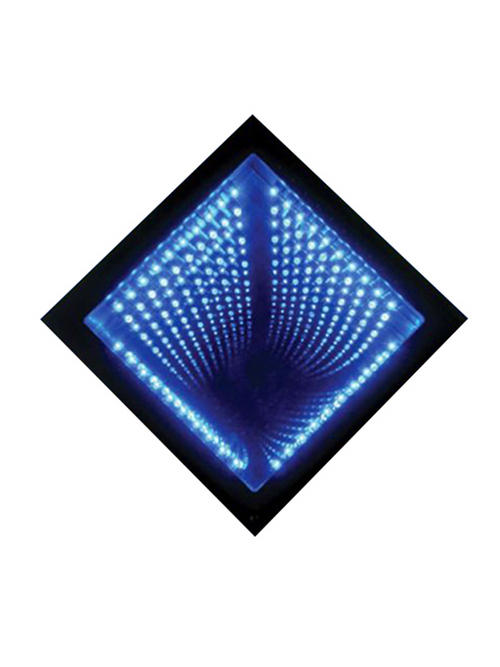 Blue Infinity Mirror Led Optical Illusion Sensory Buy Online