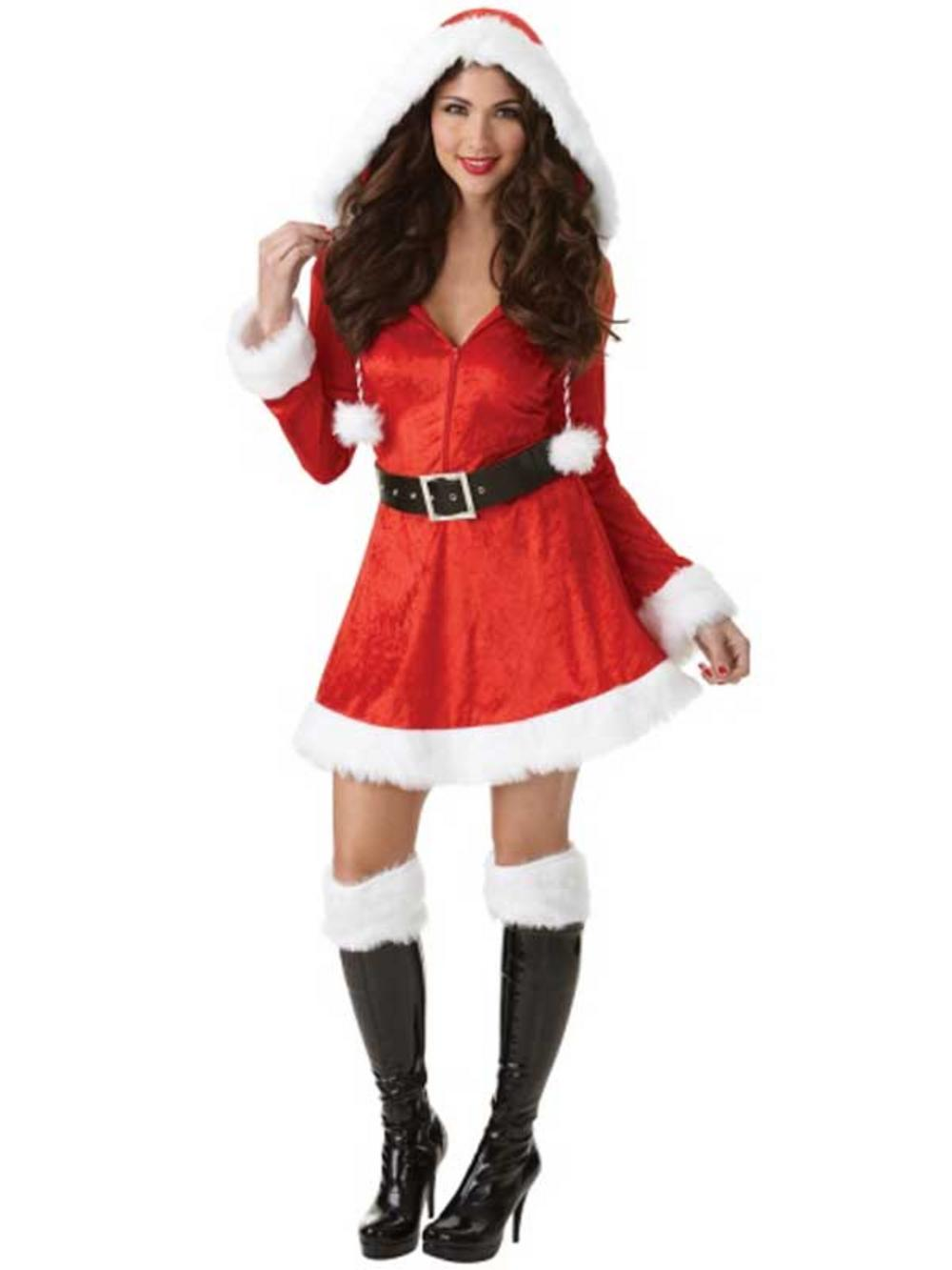 Smiffys Sexy Santa Costume Adult Mrs Claus Outfit Christmas Fancy Dress. Sold by 7th Avenue Store. add to compare compare now. $ $ Fun World Costumes Red and White Santa Claus Body Skin Suit Christmas Costume - Adult Size. Sold by Christmas Central. add to compare compare now.