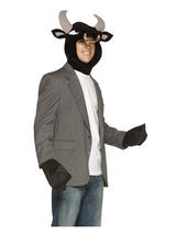 Adult Mens Ladies Bull Kit New Fancy Dress Animal