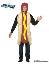 Men's Hot Dog Costume