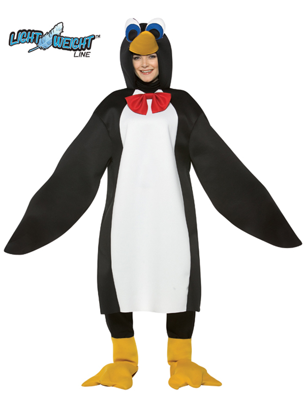 Sentinel Lightweight Animal Penguin Fancy Dress Costume Mens Las Outfit Bn