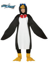 View Item Adult Lightweight Animal Penguin Fancy Dress Sea Bird Costume Mens Ladies