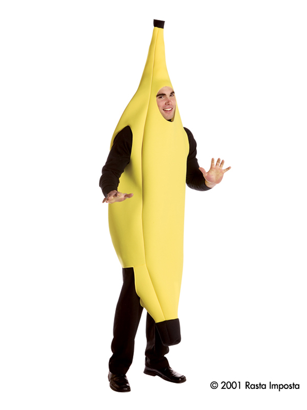 Adult's Deluxe Banana Costume