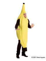 View Item Adult Banana Food Fruit Fancy Dress Costume Stag Do Halloween Mens Outfit New