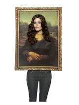 Adult's Mona Lisa Picture Costume
