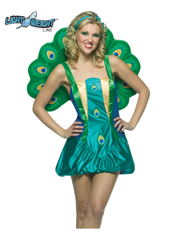 Adult's Peacock Ladies Costume