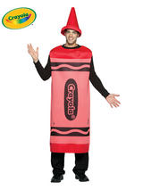 Adult's Red Crayola Costume (L/XL)