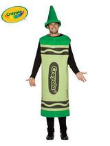 Adult's Green Crayola Costume (L/XL)