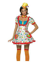 Adult's Circus Jester Costume