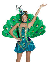 Ladies Peacock Costume