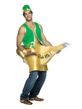 Adult's Dirty Genie In A Lamp Costume