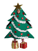 Adult's Christmas Tree Quirky Costume