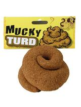 View Item New Round Mucky Turd Joke Dog Poo Poop Mess Turd Fake Imitation Fancy Dress Prop