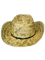 View Item Brown Straw Hat Fancy Dress Mexican Spanish Western Cowboy Western Unisex Adult