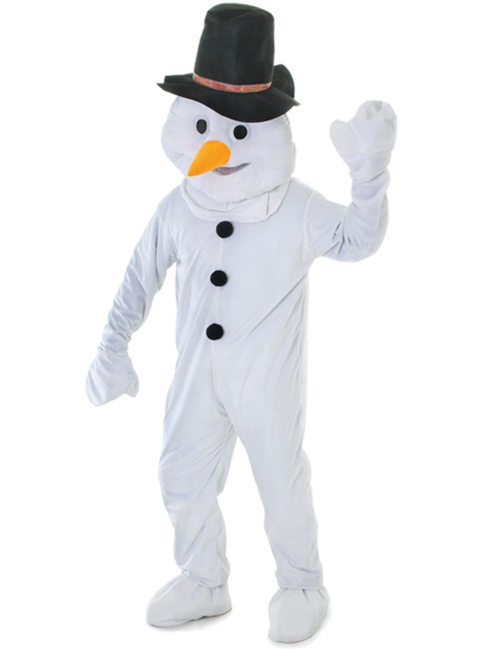 how to make a frosty the snowman costume