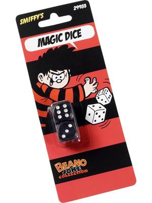 Beano Magic Dice Fancy Dress Joke Prank Accessories