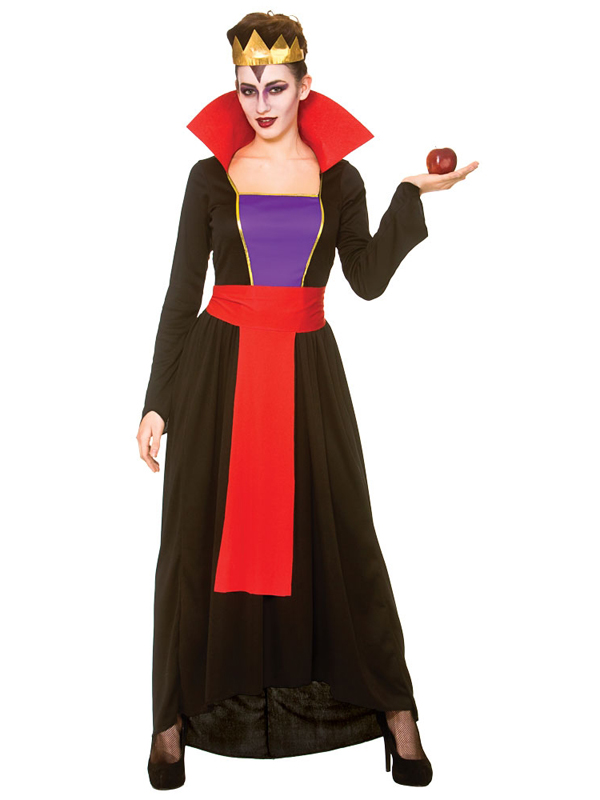 Wicked Queen Ladies Fancy Dress Halloween Womens Fairytale Snow White Costume  sc 1 st  eBay & ideas for fancy dress collection on eBay!