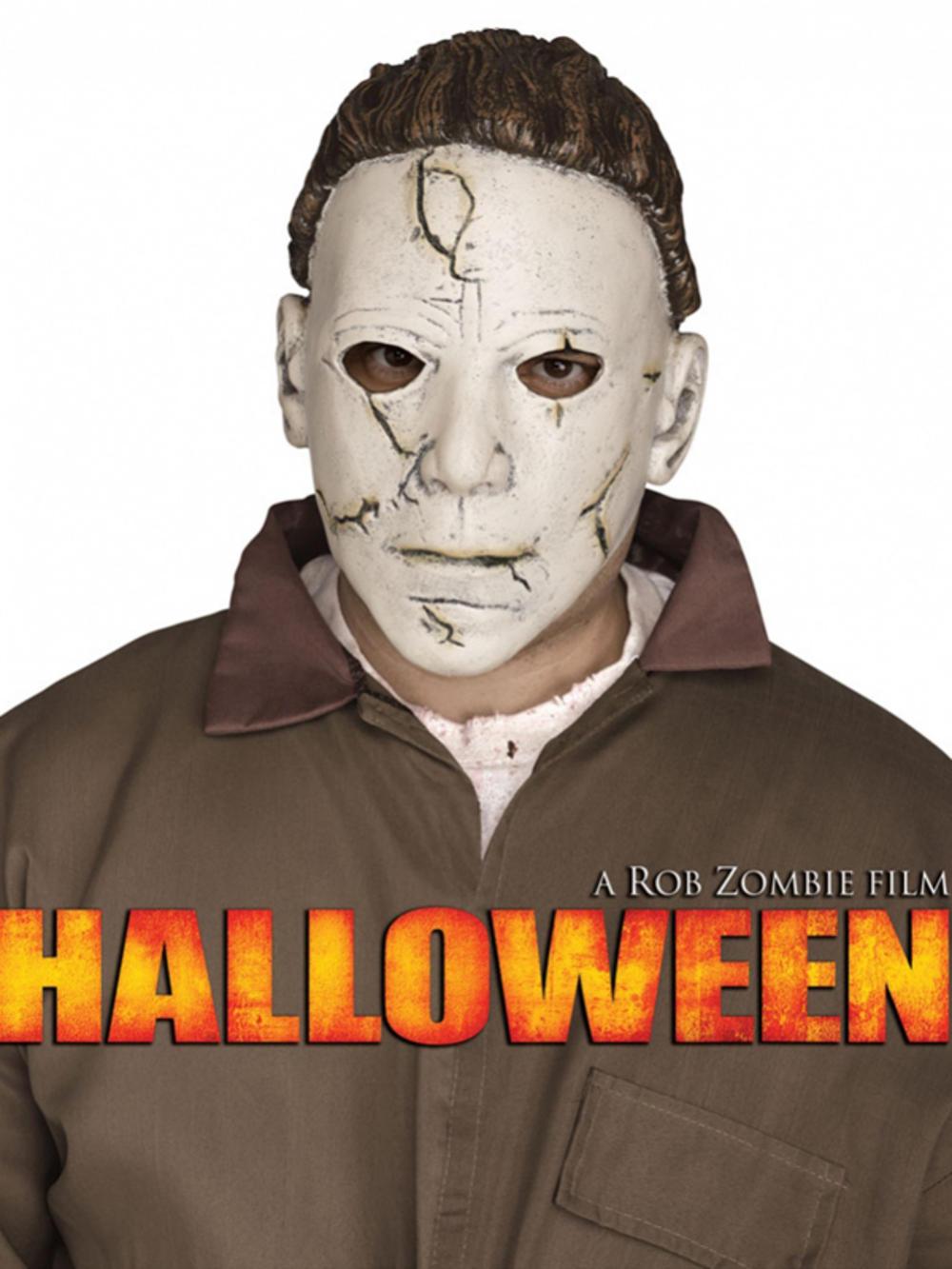 Michael Myers Latex Halloween Mask Horror Masks Fancy Dress ...