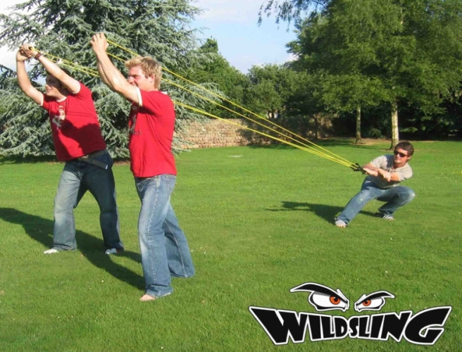 Giant Wild Sling 3 Man Catapult Waterbomb Water Bomb