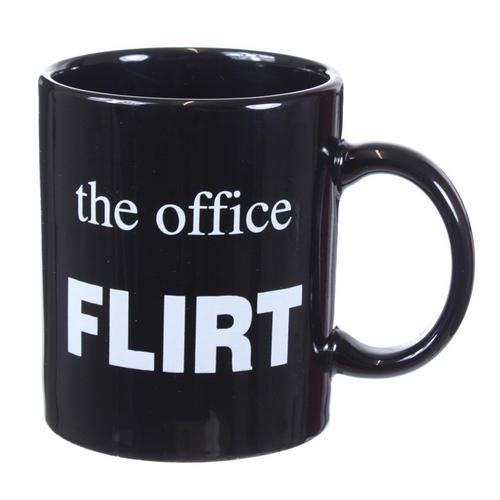 The Office Flirt Mug Funny Novelty Tea Coffee Cup Secret