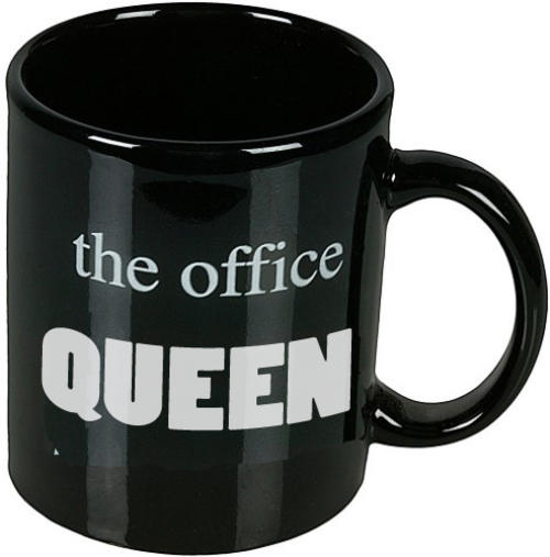 The office queen mug funny novelty tea coffee cup secret santa buy online - Funny office coffee mugs ...