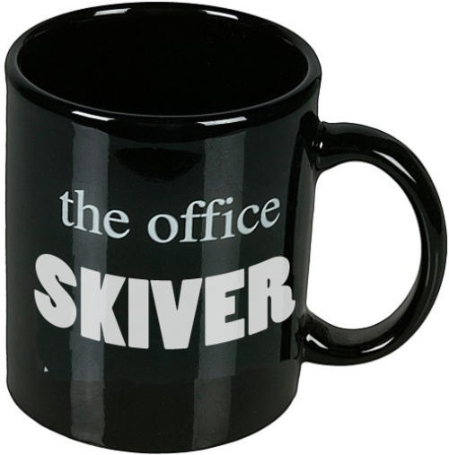 The Office Skiver Mug Funny Novelty Tea Coffee Cup Secret