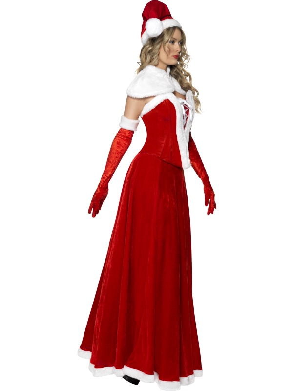 Adult santa outfit fancy dress costume christmas ladies