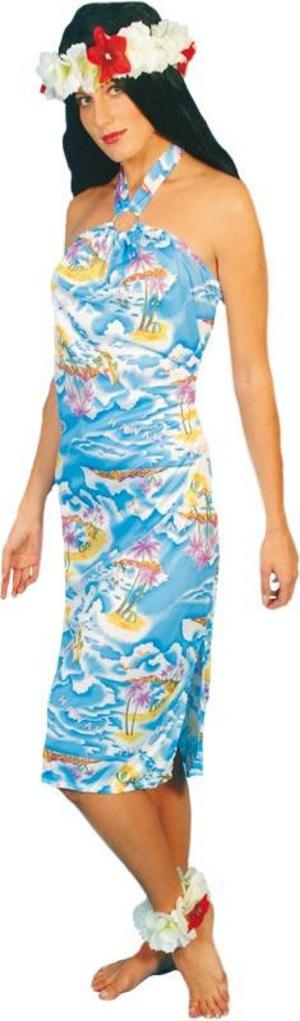 Adult Hawaiian Dress Size 12-14 Fancy Dress Costume