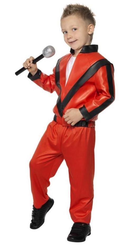 Child Michael Jackson Thriller Fancy Dress Costume Med Buy